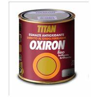 Esmalte Antioxidante Brillante 750 Ml Gris Medio Exterior Oxiron Titan