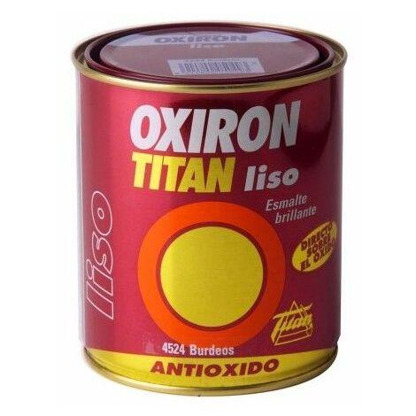Esmalte Antioxidante Brillante 750 Ml Verde Exterior Oxiron Titan