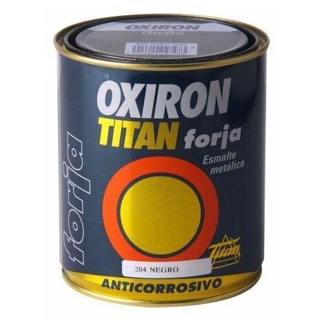 Esmalte Antioxidante Forja 375 Ml Marron Oxido Exterior Oxiron Titan