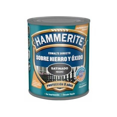 Esmalte Antioxidante Hammerite Satinado Gris Oscuro 2,5l