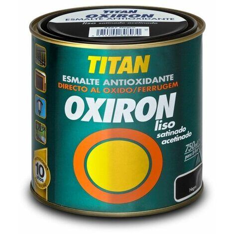 Esmalte antioxidante Oxiron Liso Satinado Efecto Forja