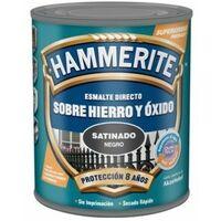 Esmalte Antioxidante Satinado 2,5 Lt Gris Oscuro Exterior Hammerite