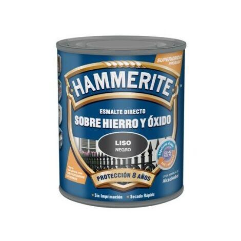 Esmalte Antioxidante Satinado 750 Ml Negro Exterior Hammerite