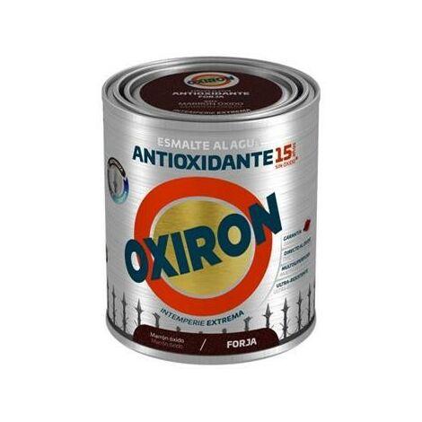 OXIRON AL AGUA FORJA MARRON OXIDO 750ML.