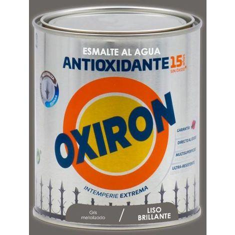 Esmalte antioxidante Titan Oxiron al agua Liso Brillante