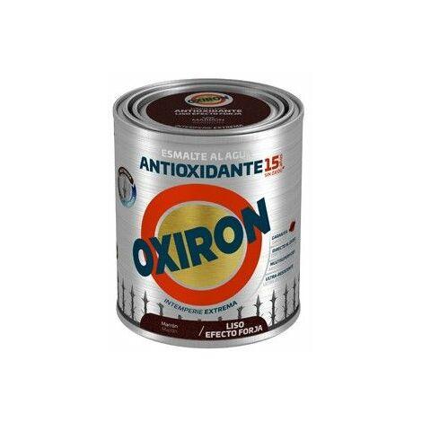 Esmalte antioxidante Titan Oxiron al agua Liso Efecto Forja