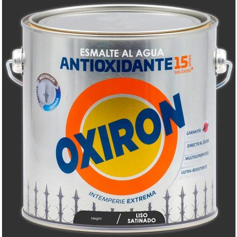 Esmalte antioxidante Titan Oxiron al agua Liso Satinado