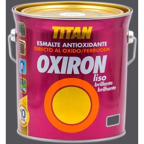 Esmalte antioxidante Titan Oxiron Liso Brillante 4L