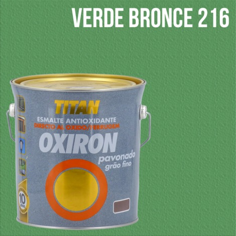 Esmalte antioxidante Titan Oxiron Pavonado 4L
