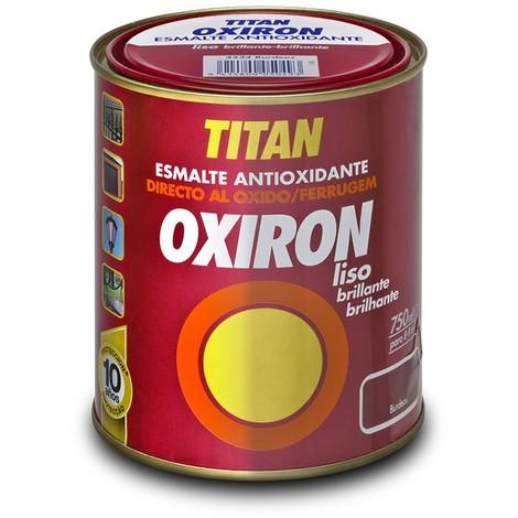 Esmalte Antioxido Liso Gris Mt 750 Ml - OXIRON - 02C455034