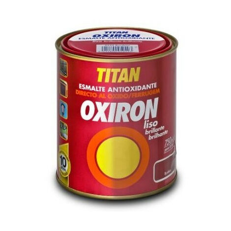 Esmalte Antioxido Liso Verde P - OXIRON - 4518 - 750 ML