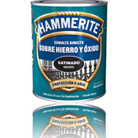 Esmalte Antioxido Satin.negro - HAMMERITE - 678020839 - 750 ML