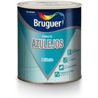 Esmalte Azulejo Brillo Gris Artico 750 Ml - BRUGUER - 5160698