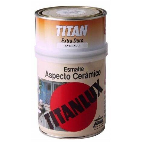 Esmalte Ceramico Brillante 750 Ml Blanco Interior Titan