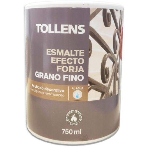 ESMALTE EFECTO FORJA GRANO FINO AL AGUA 750 ml