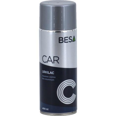 Esmalte en spray Aluminio llantas URKI-LAC 400ML BESA