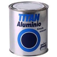 Esmalte Exterior Aluminio - TITAN - 006000350 - 50 ML