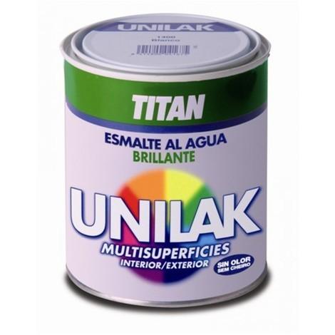 Esmalte laca bri. 375 ml bl int/ext s/olor unilak titan