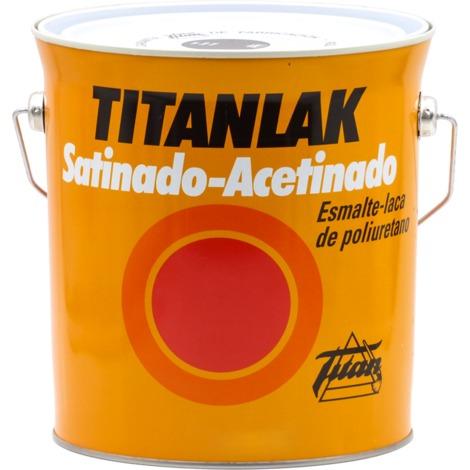Esmalte Laca Poliuretano Satin Titanlak Negro 1401 125ml