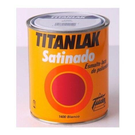 Esmalte Laca Sat Negro - Titanlak 750 Ml 1401..