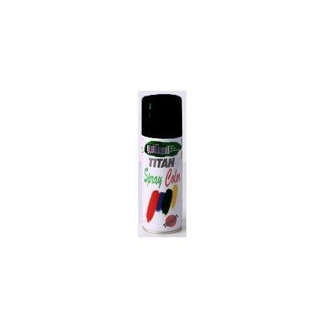 Esmalte Laca Satinado Titanlak Negro Spray 200ml 1401