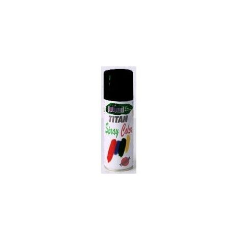 Esmalte Laca Satinado Titanlak Negro Spray 400ml 1401