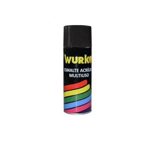 Esmalte negro mate 9005 400ml acrilico