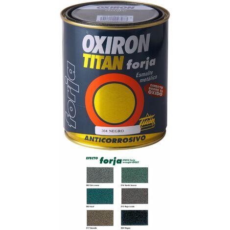 Esmalte P/metal Forja Gris Acero 750ml Oxiron Titan020020234