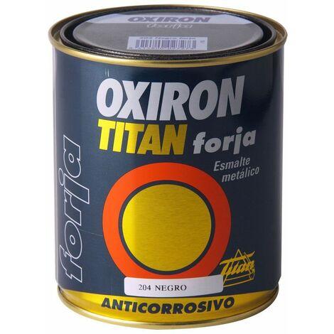 Esmalte P/metal Forja Marron Oxido 750ml Oxiron Titan