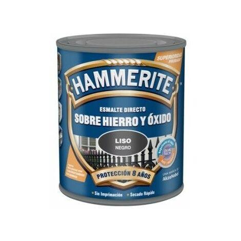 Esmalte Para Metal Hammerite Liso Brillante Azul Osc 750ml
