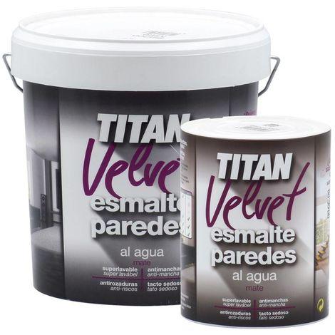 Esmalte Paredes Titan Velvet Blanco
