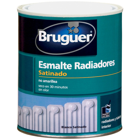 Esmalte Radiadores Acrylic Blc - BRUGUER - 5057076 - 750 ML