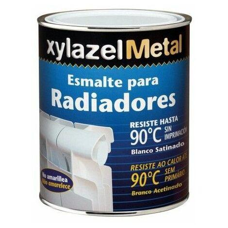 Esmalte Radiadores Mate 750 Ml Blanco Sin Imprimacion Xylazel
