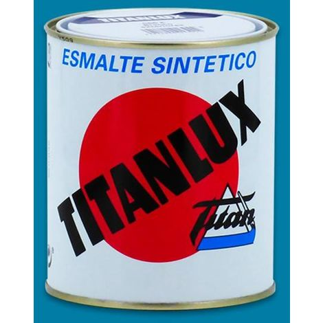 Esmalte Sint Br Amarillo Real - TITANLUX - 529 - 375 ML..