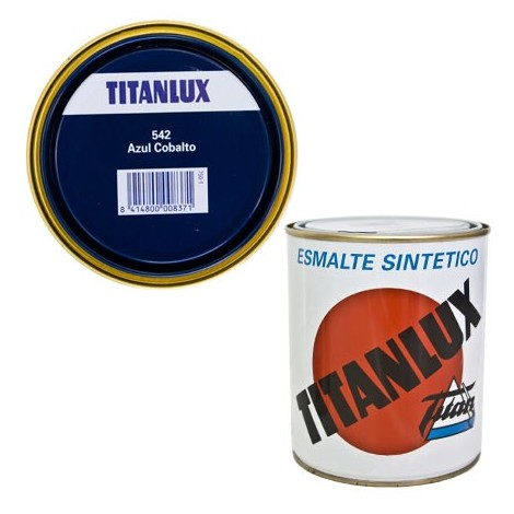 Esmalte Sint Br Azul Cobalto - TITANLUX - 542 - 125 ML