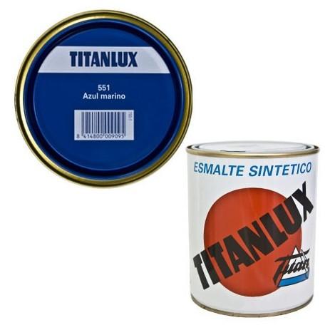 Esmalte Sint Br Azul Marino - TITANLUX - 551 - 375 ML