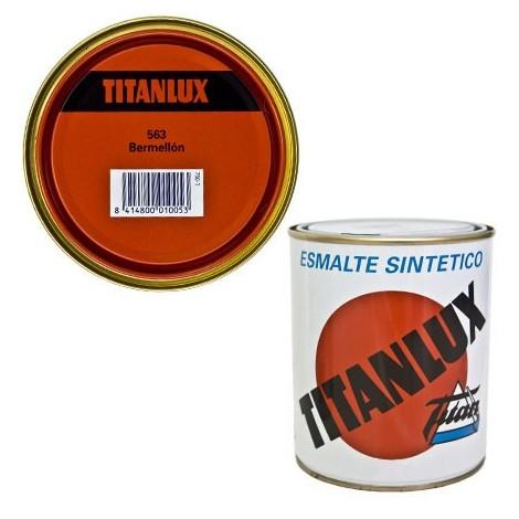 Esmalte Sint Br Bermellon - TITANLUX - 563 - 125 ML