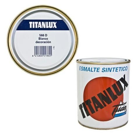 Esmalte Sint Br Blanco - TITANLUX - 566 - 375 ML..