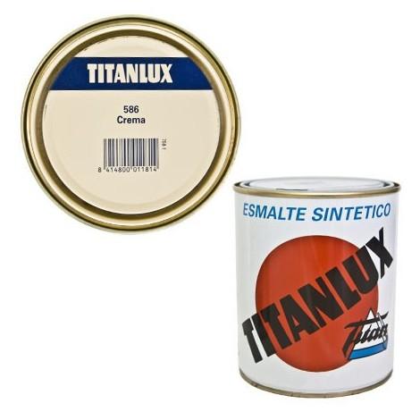 Esmalte Sint Br Crema - TITANLUX - 586 - 125 ML