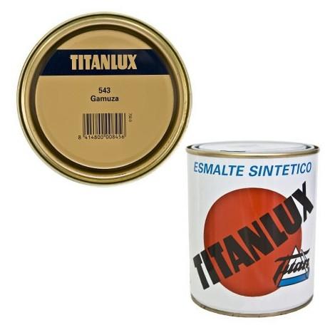 Esmalte Sint Br Gamuza - TITANLUX - 543 - 4 L