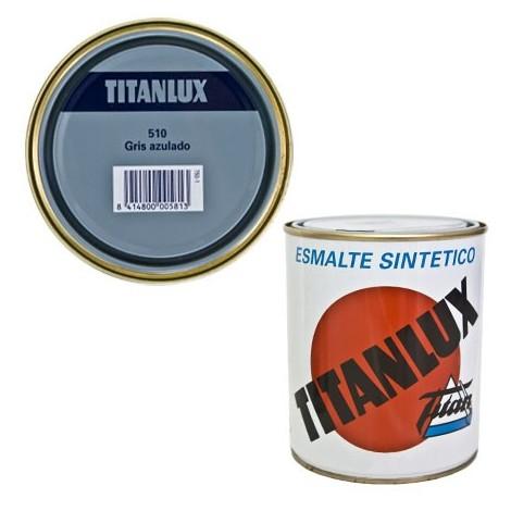 Esmalte Sint Br Gris Azulado - TITANLUX - 510 - 4 L
