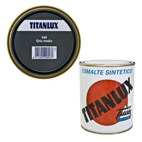 Esmalte Sint Br Gris Medio - TITANLUX - 549 - 125 ML