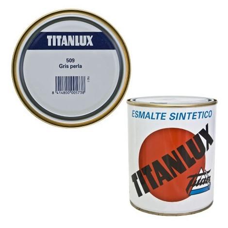 Esmalte Sint Br Gris Perla - TITANLUX - 509 - 125 ML