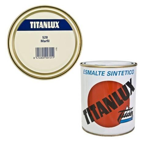 Esmalte Sint Br Marfil - TITANLUX - 528 - 125 ML