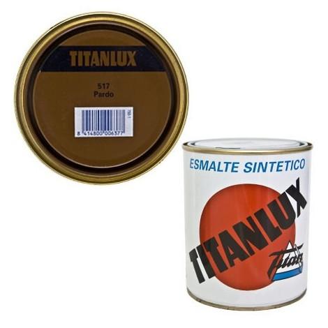 Esmalte Sint Br Pardo - TITANLUX - 517 - 4 L