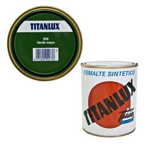 Esmalte Sint Br Verde Mayo - TITANLUX - 559 - 4 L