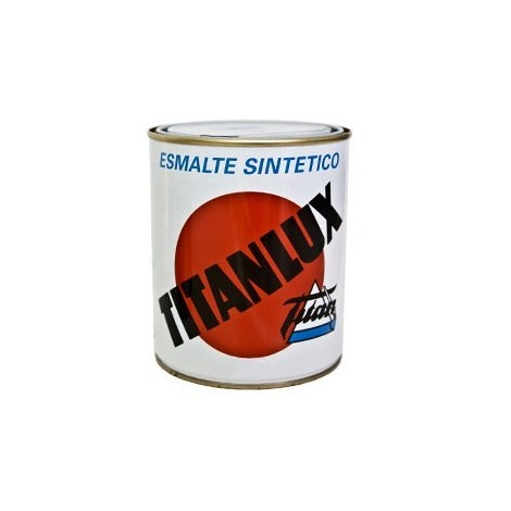 Esmalte Sint.bril.plata - TITANLUX - 520 - 375 ML