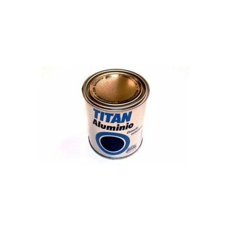 Esmalte Sintetico 375 Ml Aluminio Exterior Titan