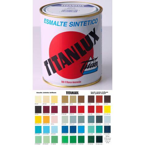 Esmalte Sintetico Brillan Titanlux Blanco 125ml 001566d19