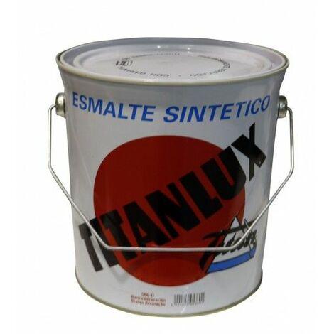 Esmalte Sintetico Brillante 4 Lt Blanco Interior/Exterior Titan Titanlux